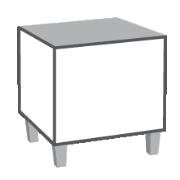 Sitzwürfel / Hocker