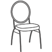 Bankettstühle (stapelbar)