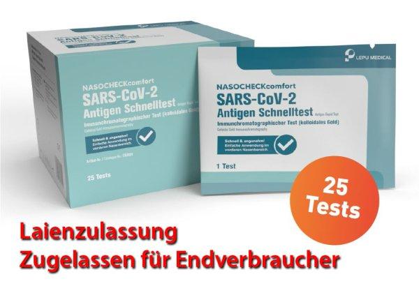 Lepu - Antigen-Nasenbohrertest (Laienzulassung) (Box)