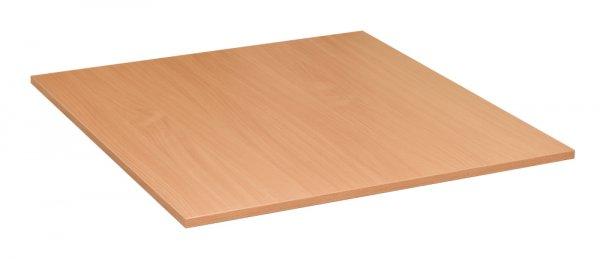 Tischplatte 80x80 Buche Natur Flame 18 mm