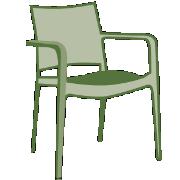 Kunststoffstühle
